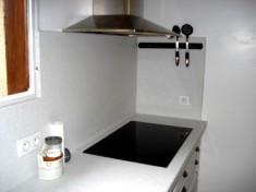 Détail de la plaque de cuisson