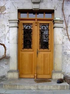 Porte d'entrée 2 vantaux